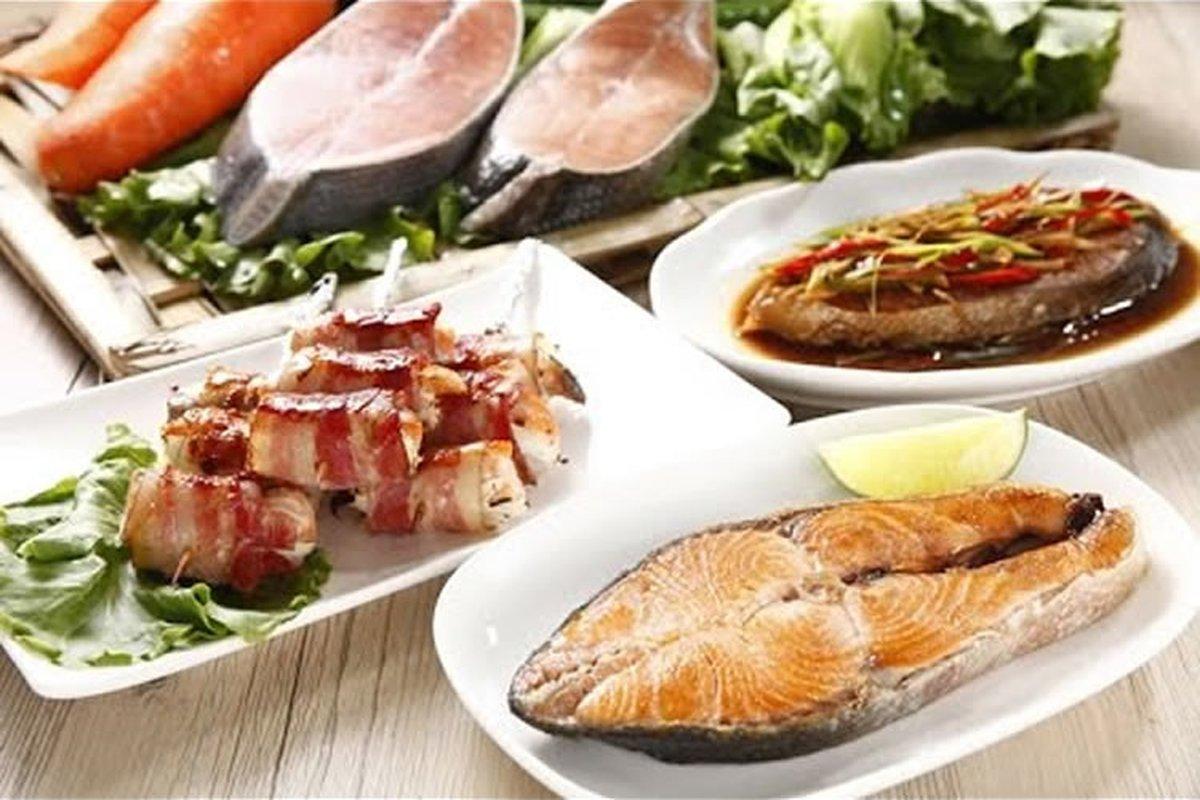 乾煎、紅燒、香烤 - 鮭魚片三吃