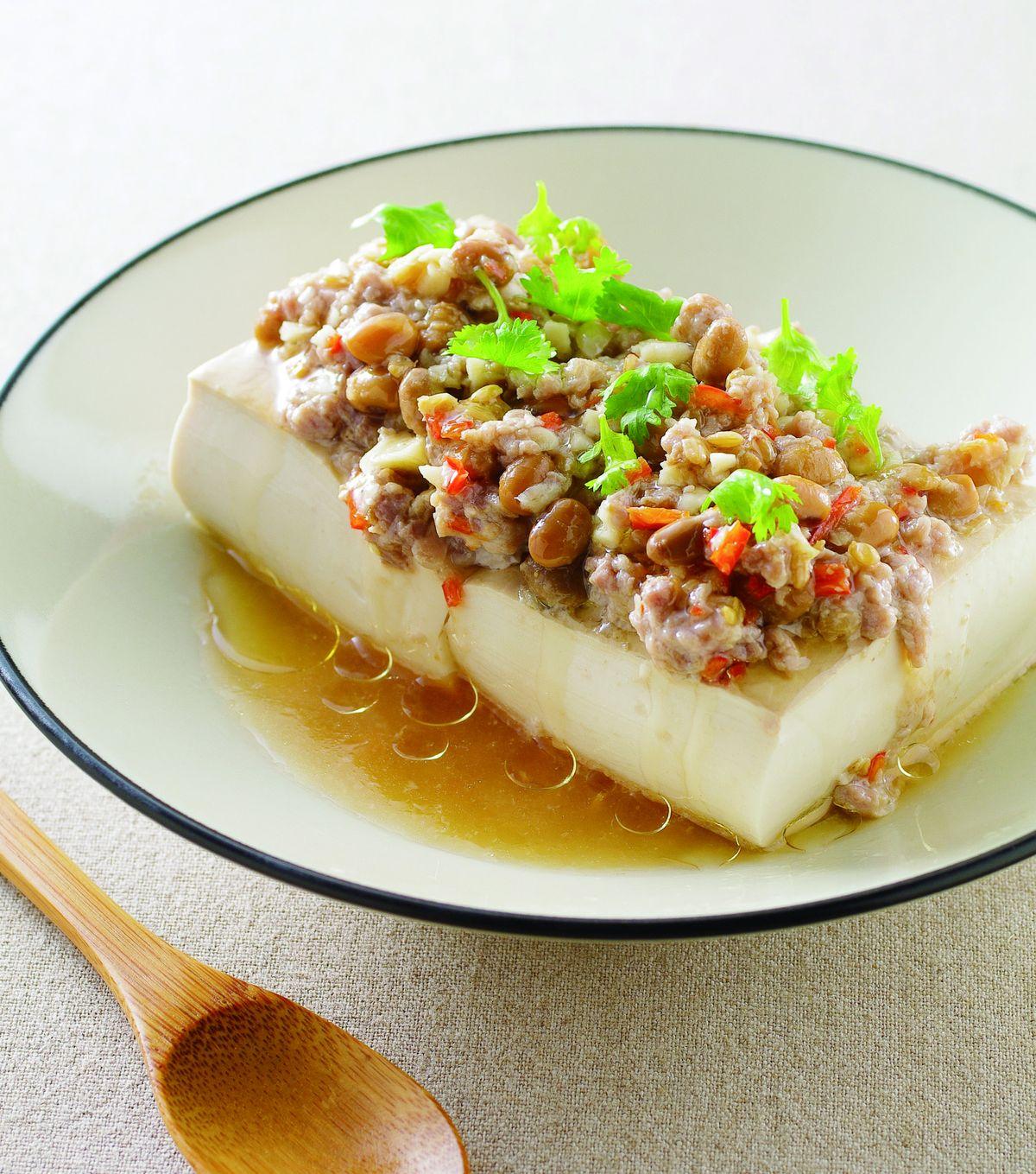 豆醬蒸豆腐