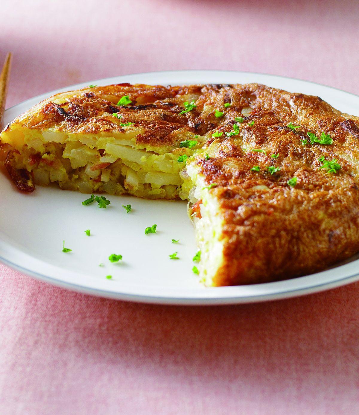 馬鈴薯 烘 蛋 2 材 料 雞蛋 3 顆 馬鈴薯 300 公克 洋蔥 1 ...