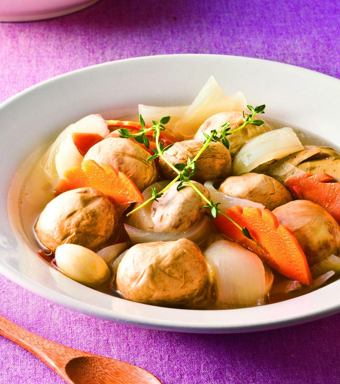 義大利醋拌蘑菇