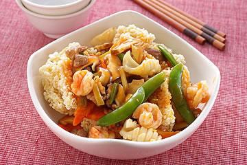 三鲜烩锅巴