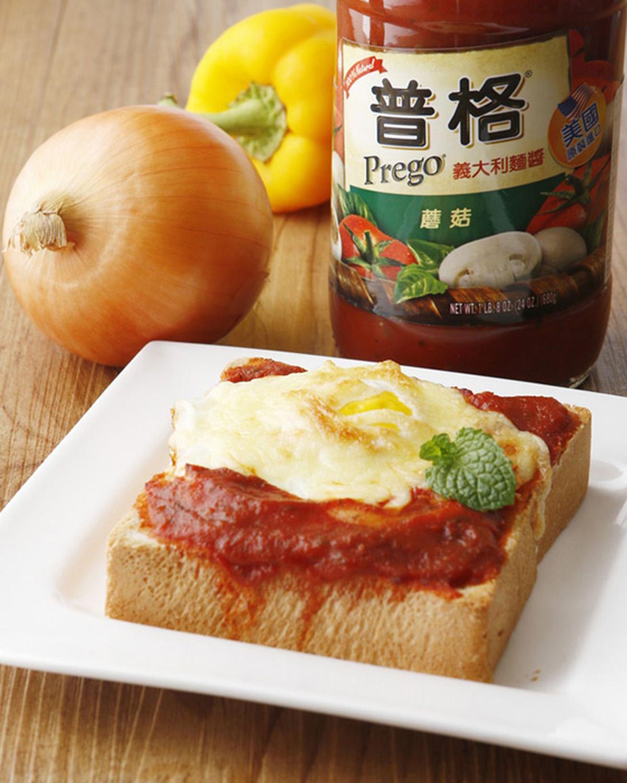 焗烤番茄蛋厚吐司