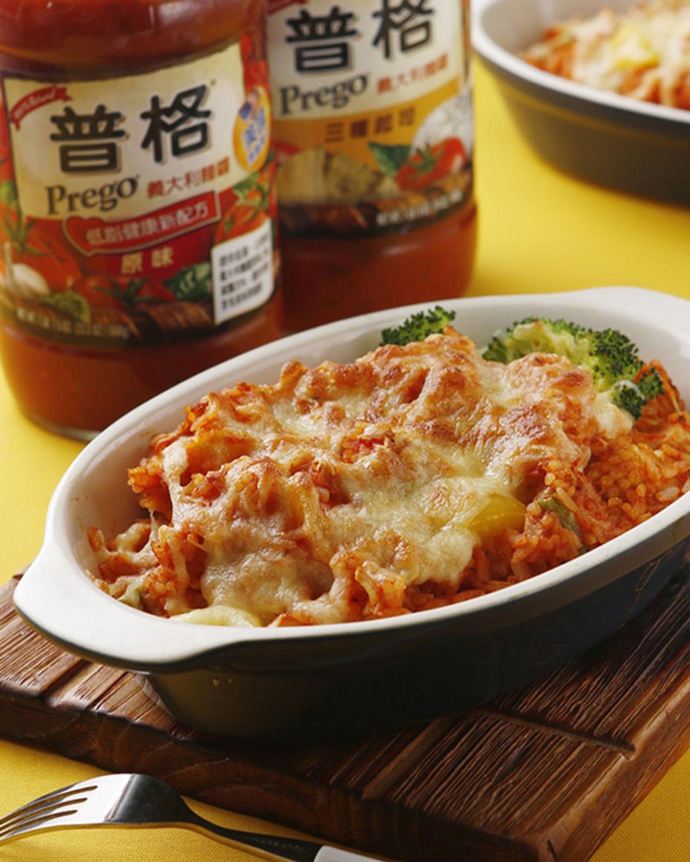 野菇番茄焗飯