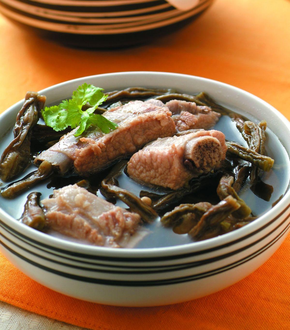 長豆乾排骨湯