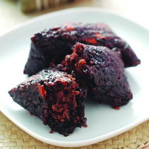 紫米豆沙粽(1)
