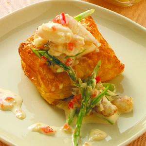 蟹肉奶油酥盒