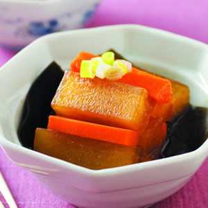 日式風味燒蘿蔔
