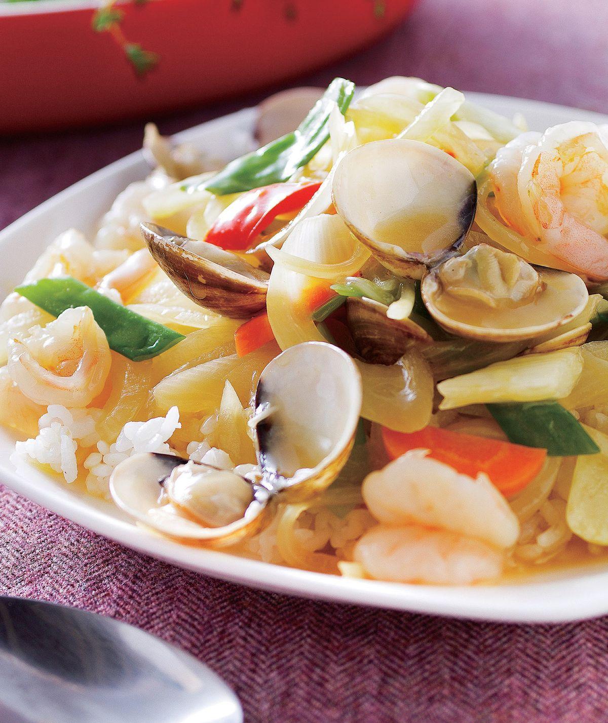 咖哩海鮮燴飯