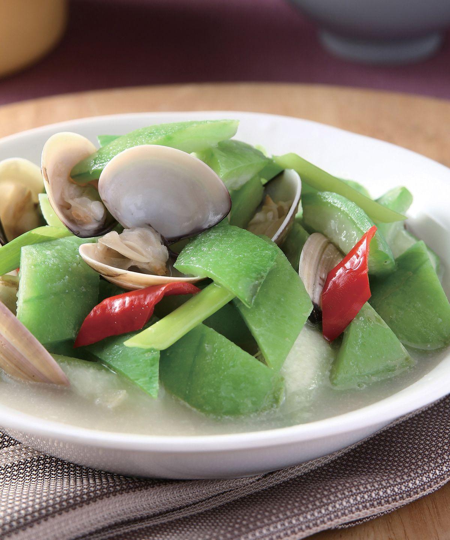 絲瓜燴蛤蜊(1)