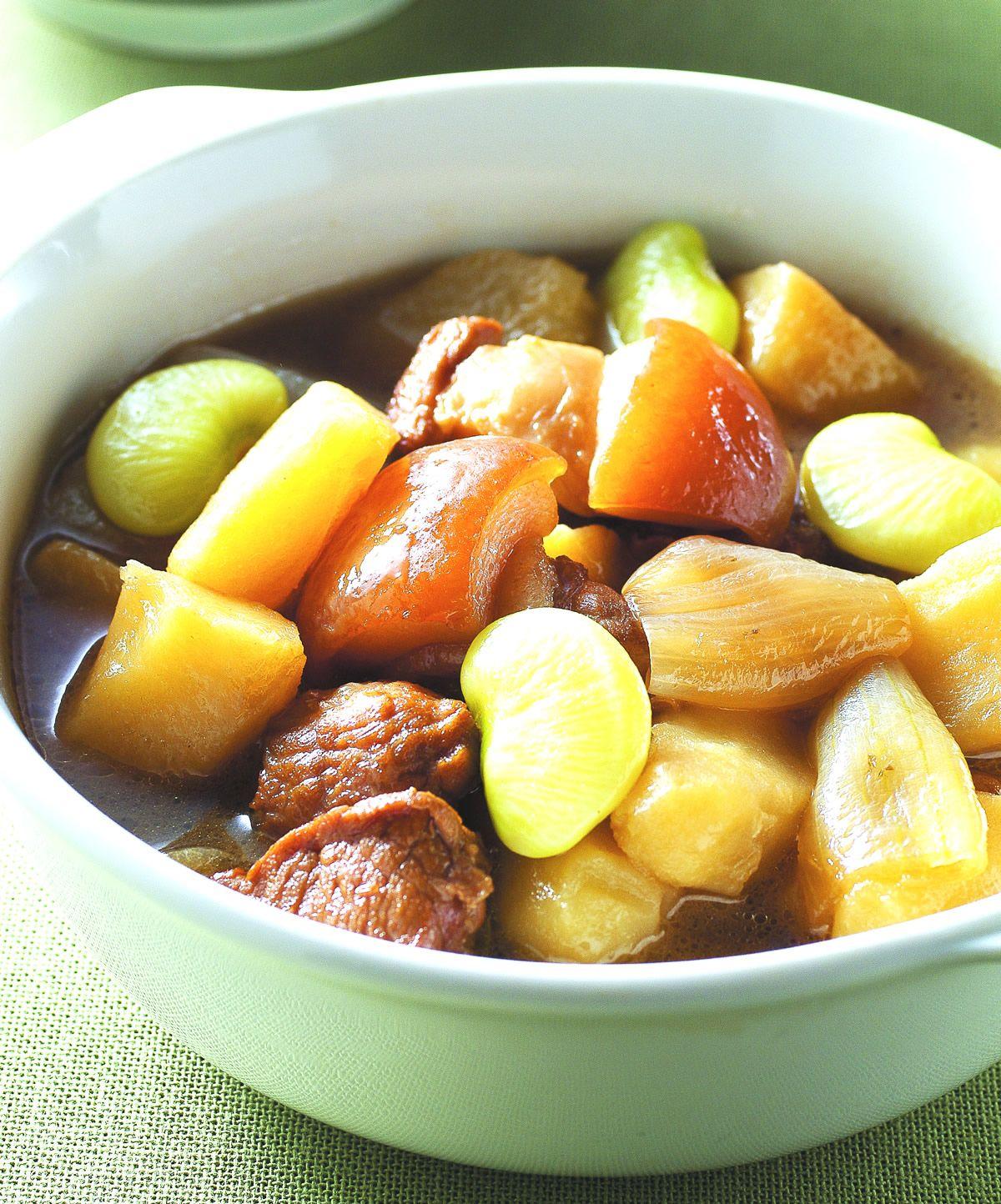 馬鈴薯燉肉(4)::食譜